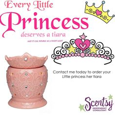 "TIARA Warmer~ Little girls room or for your ""diva"" ~ love the BLING! ORDER ONLINE ~ SHIPS DIRECT"