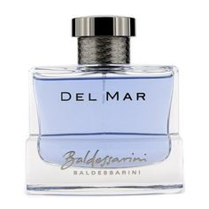 Baldessarini Del Mar Eau De Toilette Spray - 90ml/3oz by Hugo Boss. $52.86. A woody spicy fragrance for men Fresh, sweet, light, warm & uplifting Top notes of mandarin, black pepper & bergamot Heart notes of cedar, cinnamon & cardamom Base notes of vetiver, olibanum, patchouli & ambergris Perfect for all occasions
