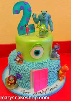 Monster University cake | ... On Next Gen Kuga Ford Owners Club Forums Page 51 Cake on Pinterest