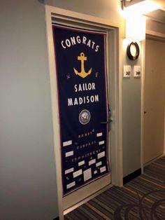 Navy Graduation Door Hanger Navy Navy Girlfriend Navy