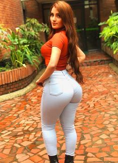 Big Ass in Tight Jeans