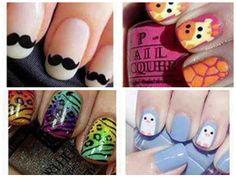 #nail  #polish #designs