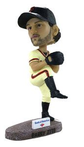 Barry Zito Bobblehead - 1st 40,000 #SFGiants fans Sun, May 26th