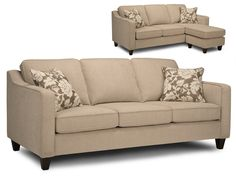 wilson furniture, love seat with extra long piece