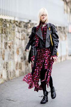 Street fashion: Paris Fashion Week jesień-zima 2017/2018