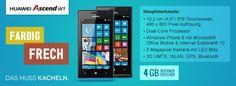 Mit dem Ascend W1 betritt der chinesische Hersteller Huawei nun auch das Feld der Windows Phone 8 Smartphones. Frech, fröhlich geht das kacheln leicht von der Hand!