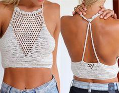 Fashionable lace mesh bra vest