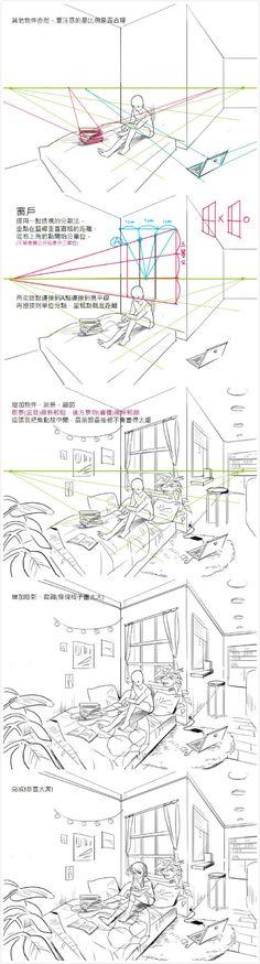 #绘画教程# 台湾画师 星期一回收日 做...