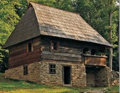 Romanian old traditional house