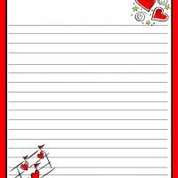 Love Notes Stationary - Print this for free from your own computer! Check out freeprintable.com for more free printable items like birthday cards, school worksheets, coloring pages, quotes, & more!
