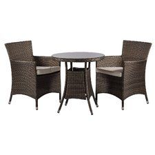 Savannah 2 Seater Dining Set With Upholstery
