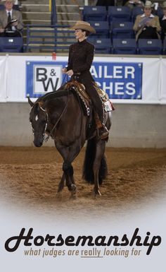 AQHA judge Holly Hover gives her opinion for how riders can up their game in pattern classes.