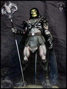 (Science) Fiction, Fantasy, & Adventure Masters of the universe (custom 1/6 figures)