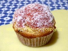 Kokosové muffiny Cupcake, Breakfast, Desserts, Recipes, Food, Morning Coffee, Tailgate Desserts, Deserts, Cupcakes