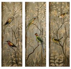 Find Calima Bird Wall Decor, Set of 3 in the Wall Decor category at Tractor Supply Co.Use the Calima Bird Wall Decor to add some style to your r Wall Decor Set, Wood Wall Decor, Wall Art Sets, Room Decor, Wall Decorations, Christmas Decorations, Bird Wall Art, Hanging Wall Art, Metal Wall Art