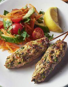 Low FODMAP Recipe and Gluten Free Recipe - Turkey Koftas    http://www.ibssano.com/low_fodmap_recipes_turkey_koftas.html