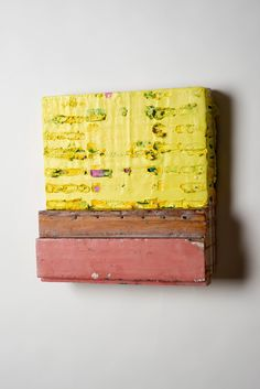 Nancy Ferro _ Grito 2 _ beeswax and found wood on wood 12by12by2 _2015 .jpg (JPEG Image, 734×1100 pixels) - Scaled (62%)
