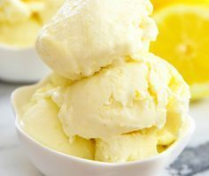 3 Ingredient No Churn Creamy Whole Lemon Ice Cream. No ice cream maker needed! Ice Cream At Home, Make Ice Cream, Ice Cream Maker, Homemade Ice Cream, Easy Ice Cream Recipe, Ice Cream Recipes, Lemon Dessert Recipes, Lemon Recipes, Bolos Low Carb