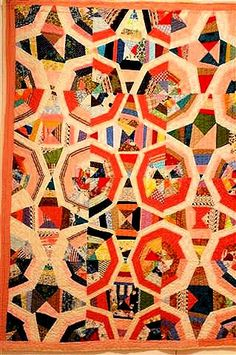 """Bold Expressions"" quilt collection  at Mingei International Museum, San Diego"