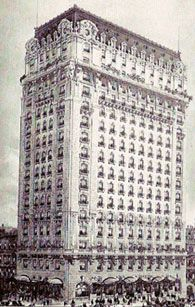 The St. Regis at 55th and Fifth, built in 1904 by Col Jack Astor