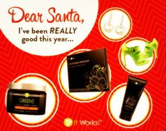 Indeed! You've been so good this year! Get yourself a little love this Christmas and try some Skinny Wraps! Or some SUPER HEALTHY GREENS! Or get some Defining Gel and improve the look of your skin by getting it looking years younger!!! We got cha covered at Skinny Wrap Miracle & ItWorks! Merry Christmas from us!!!