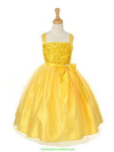 6dd162683e Avery or Sydney Yellow Flower Girl Dresses
