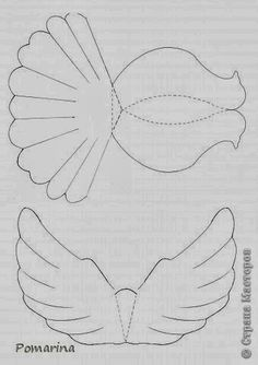 Vogel Diy Projects: DIY Paper Dove With Printable TemplateDraw / print out the template: References from: Stranamasterov Origami Paper, Diy Paper, Paper Art, Paper Crafts, Paper Birds, Paper Flowers, Crafts For Kids, Arts And Crafts, Bird Crafts