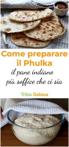 In alcuni stati dell'India esiste una versione di #chapati , il tipo di #pane più diffuso che prevede una parte della cottura direttamente sul fuoco senza padella, creando un pane gonfio. Questo chapati particolare viene chiamato #phulka , e puo' accompagnare tutte le pietanze, sposandosi bene soprattutto con i piatti contenenti salse. #tribugolosa #gourmettribe #golosiditalia #cucina #cucinaitaliana #cucinare #italianrecipes #food #italianfood #foodstyling #yummy #foodlover #ricette Indian Food Recipes, Ethnic Recipes, Chapati, Easy Bread, Zucchini Bread, Street Food, Bread Recipes, Bakery, Favorite Recipes