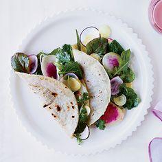 Garden Salad Tacos: Alice Waters