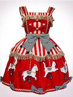 Vierge Vampur Animal Carousel JSK (red)