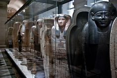 """Louvre - Egyptian Exhibition by Georgiy Gulyaev, 2010"" ^**^"