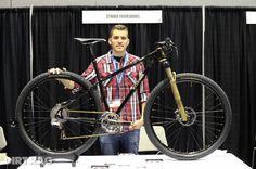 Aaron Stinner of Stinner Frameworks built this custom 29er. Via Dirt Rag.