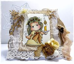 Craft Heaven Shop Inspirational Blog: Lingonberry Light Tilda..