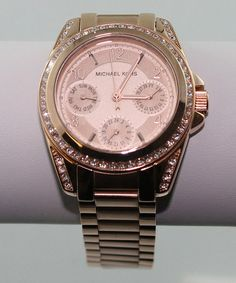 Look what I found on #zulily! Rose Gold Stainless Steel Sparkle Chronograph Watch by Michael Kors #zulilyfinds