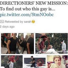 we must find out who this man is and why hes always with One Direction