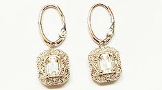 Sparkling Lord & Taylor earrings
