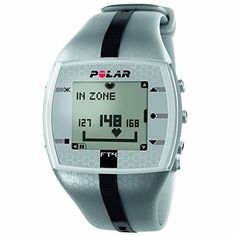 Polar FT4 Heart Rate Monitor Watch Silver  Black -- You can find out more details at the link of the image.