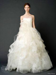 Best Bridal Dress & Trends For summer 2012 Vera Wang Themarriedapp.com hearted <3