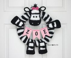 If you follow me on Instagram you've been seeing bits andpieces of this project over the past week. And here it is in itsentirety! I made this Zebra Wreath for my daughters bedroom door but it also will go on our front door at her zebra-themed birthday party next month. The best part about this …