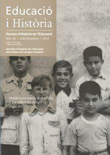 EDUCACIÓ I HISTORIA : REVISTA D'HISTORIA DE L'EDUCACIÓ
