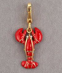 juicy couture charm -Lobster