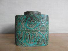 RARE Aluminia / Royal Copenhagen  lidded bowl / by danishmood, kr1200.00