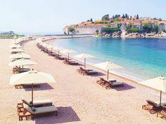 A Budva riviéra strandjai Montenegro, Outdoor Furniture, Outdoor Decor, Sun Lounger, Patio, World, Blog, Chaise Longue, Blogging