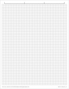 This LetterSized Graph Paper Has Two Aqua Blue Lines Every Inch