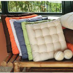 almofadas e futons