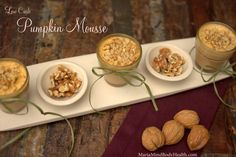 Low Carb Pumpkin Mou