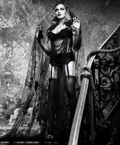 Madonna by Luigi Murenu + Iango Henzi for Harper's Bazaar US February 2017