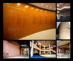 Entry: Best Donor Recognition Solution Ordway Center for Performing Arts. St. Paul, MN. , ASI was tasked with signage for the expansion and renovation of the Ordway Center. The signage requirements were to create a seamless transition between old and new while bringing the Concert Hall a modern feel and minding the aesthetics of the architecture in the new space. The scope of work was defined as part wayfinding, part branding, and a great deal of donor recognition in several forms.