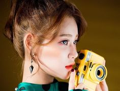 _ #AOA #1st #first #album #angelsknock #jacket #photo #shooting #behind - #beautiful #pretty #유나 #yuna .