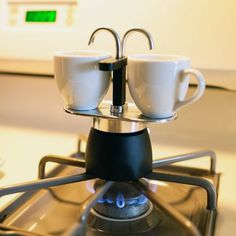 Bialetti Mini-Express 2 Cup Stovetop Percolator